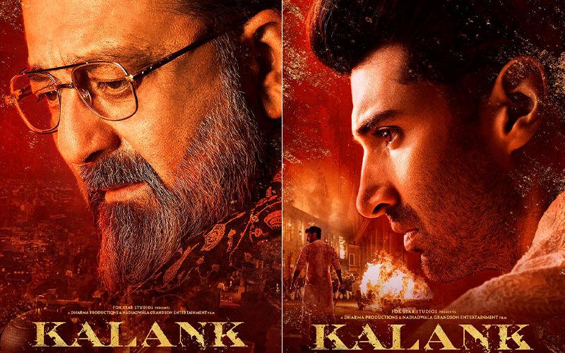 Kalank New Posters: After Varun Dhawan As Zafar, Meet Sanjay Dutt As Balraj And Aditya Roy Kapur As Dev Chaudhry