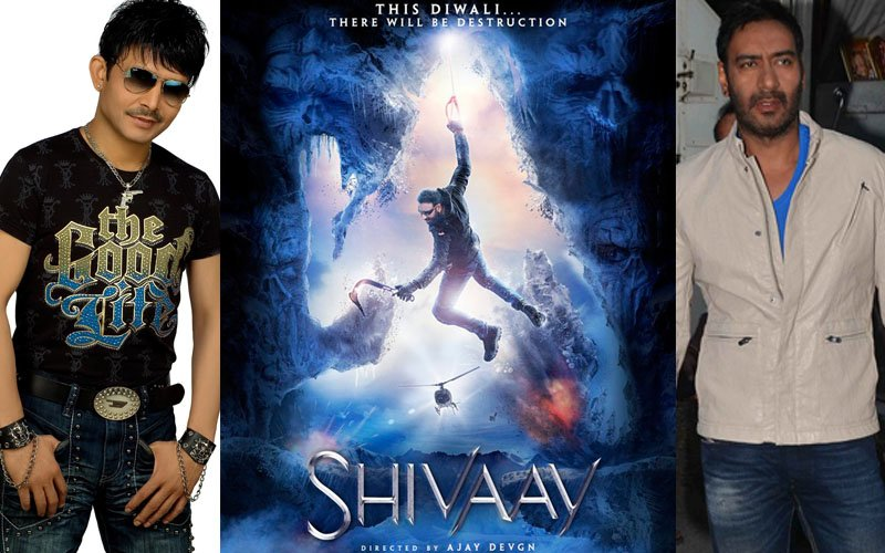 KRK Will Service Ajay Devgn As An Office Boy If Shivaay Clicks At The BO