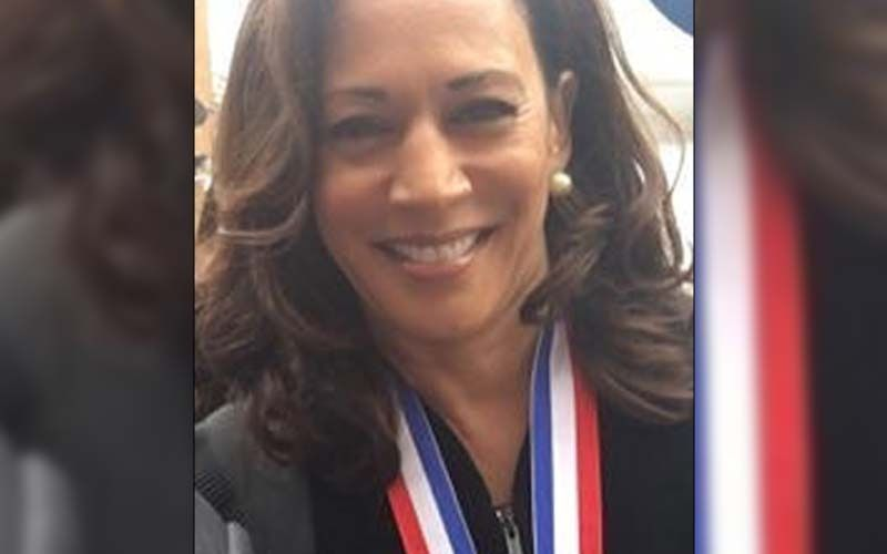 Kamala Harris Shows Off Her Historic Desk At White House Crafted Out Of Wood From USS Constitution; Fans Find It 'Fitting For The Glass Shattering VP'