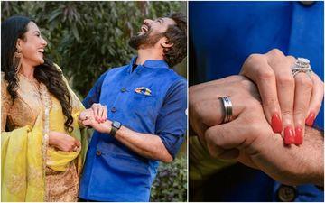 Ex- Bigg Boss Contestant Kamya Punjabi Gets Engaged To Shalabh Dang In A Gurudwara, Flaunts Her HUGE Diamond Ring