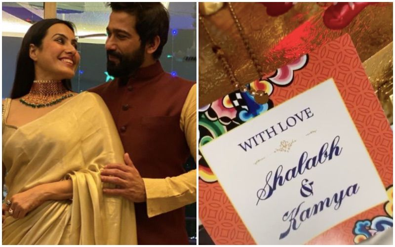 Wedding Bells Are Ringing For Kamya Panjabi- Shalabh Dang; Actress Gives A Glimpse Of Her Wedding Card