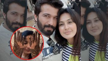 Karwa Chauth 2019: An Excited Kamya Panjabi Flaunts Her Beautiful Mehendi, As She Fasts For Beau Shalabh Dang