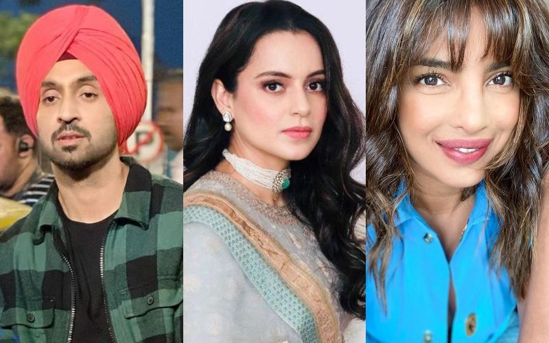 Kangana Ranaut QUESTIONS Diljit Dosanjh-Priyanka Chopra About The Farm Bill; Accuses Them Of Using The Farmers To Stay In Anti-Nationalists' Good Books