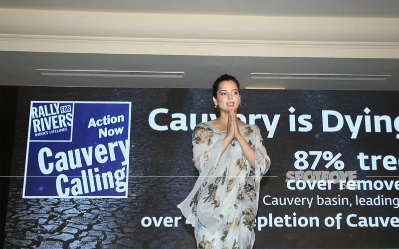 Kangana Ranaut Donates 42 Lakh For Cauvery Calling Campaign, Pledges 1 Lakh Trees For Plantation