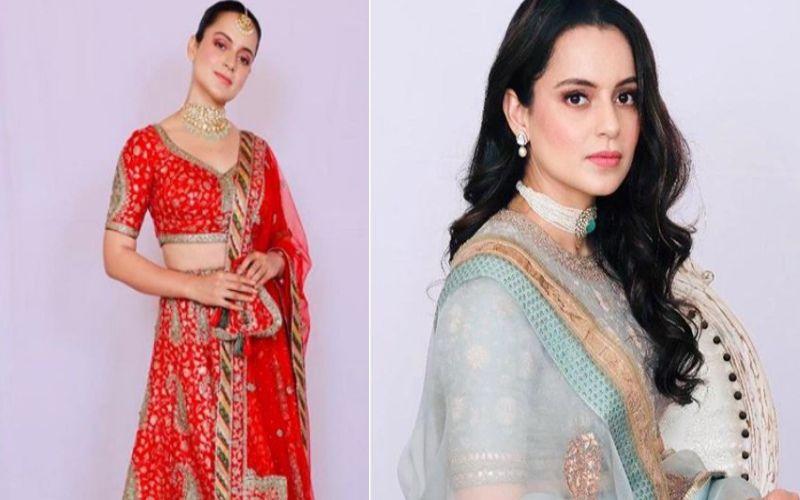 Kangana Ranaut Churns Out Amazing Fashion Cues To Flaunt This Upcoming Wedding Season - PICS