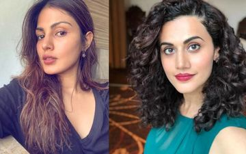 Contrary To Rhea Chakraborty's 'SSR Forced Me To Take Drugs' Confession NCB's Remand Copy Has No Mention Of Consumption; Taapsee Pannu Reacts