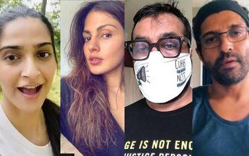 Rhea Chakraborty Jailed For 14 Days: Sonam Kapoor, Vidya Balan, Farhan Akhtar, Anurag Kashyap Come Out In Support Demanding #JusticeForRhea