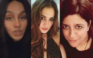 Shibani Dandekar, Saqib Saleem, Zoya Akhtar Stand Up In Support Of Rhea Chakraborty; Demand #ReleaseRhea