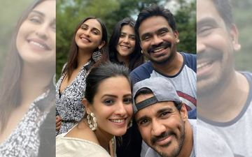 Ekta Kapoor Chills With Krystle D'Souza, Anita Hassanandani And More Post The Stone Pelting Incident Outside Her Residence; Much-Needed Break?
