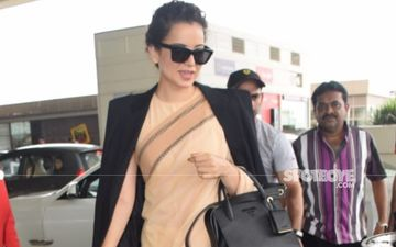 Kangana Ranaut's Y Plus Security Leaves Her Side As Actress Makes A Landing In Chandigarh; Says, 'Jaan Bachi Toh Lakhon Paaye'