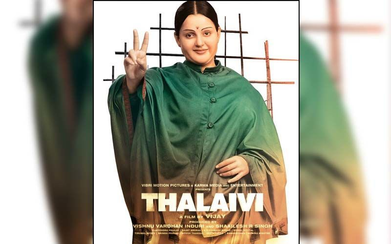 Thalaivi: Kangana Ranaut Is Happy With The Response To Song Chali Chali; Replies To Those Asking If J Jayalalithaa Was This Beautiful In Her Debut Song?