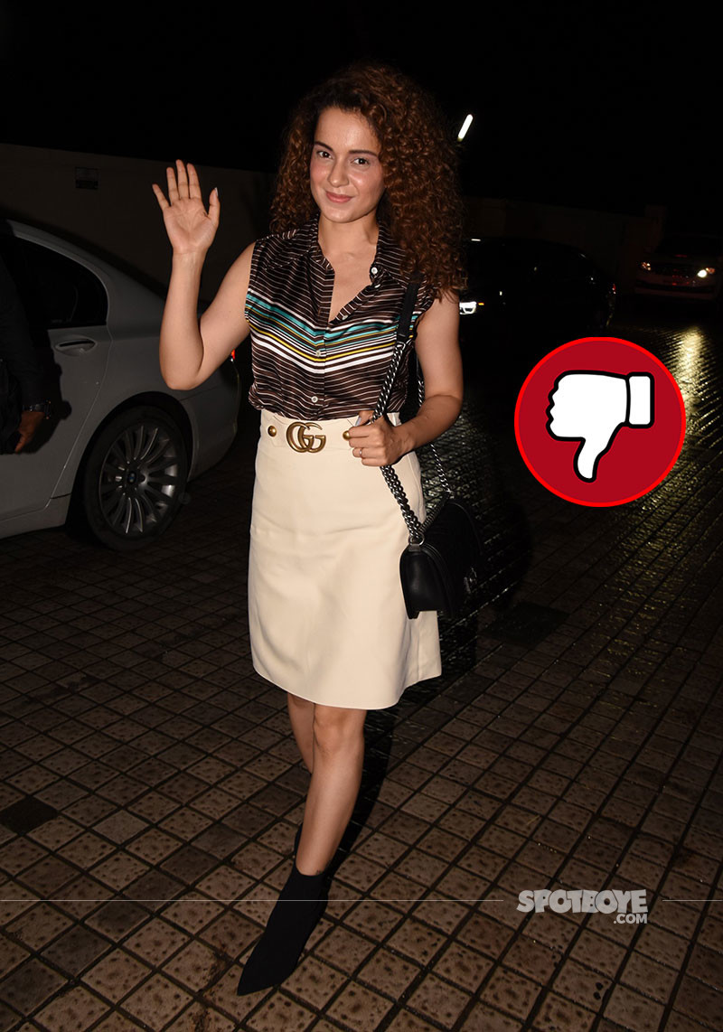 Kangana Ranaut Spotted At PVR Juhu