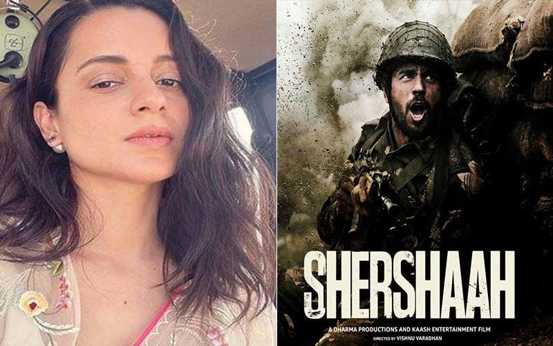Kangana Ranaut Praises Karan Johar's Shershaah, Calls Sidharth Malhotra-Starrer A 'Glorious Tribute' To Capt Vikram Batra