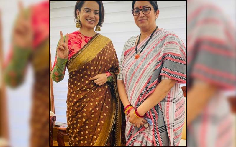 Kangana Ranaut Shares A Picture With Smriti Irani And Calls Her 'Real Life Thalaivii'; Actress Hosts Screening For Politicians In Delhi