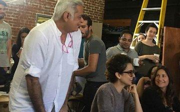 CLICKED: Kangana Ranaut's Meet-N-Greet In Atlanta With The Team Of Her Upcoming Film Simran