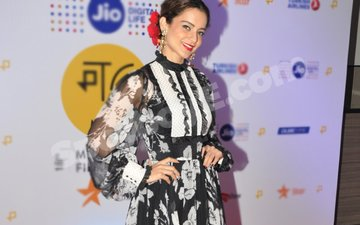 Kangana Ranaut shows her flower power at Jio MAMI Festival