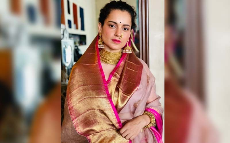 Kangana Ranaut Wishes Fans On Gudi Padwa And Chaitra Navratri, Looks Gorgeous In Traditional Avatar As She Seeks Blessings From The Goddess