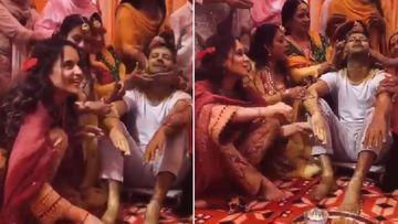 Kangana Ranaut Gears Up For Two Weddings In Family; Celebrates Haldi Ceremony Of Brother Karan Saying 'Jinx' Has Been Broken