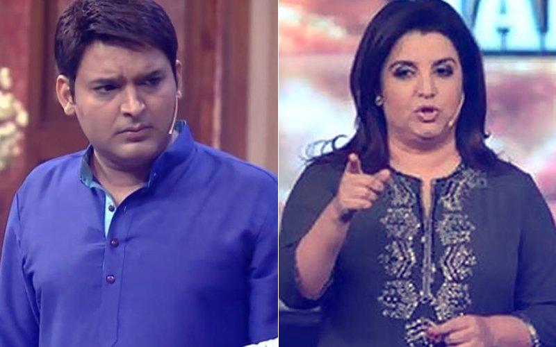 Height Of Indecency! Kapil Sharma DOES NOT REGRET Inviting Farah Khan Via SMS
