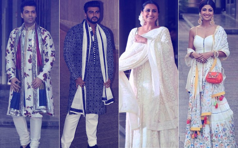 Sonam Kapoor's Mehendi: Karan, Arjun, Rani & Shilpa Turn Up