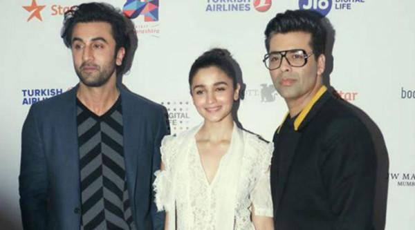 Karan Johar Ranbir Kapoor Alia Bhatt