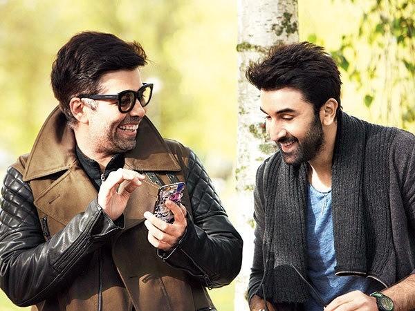 Karan Johar and Ranbir Kapoor
