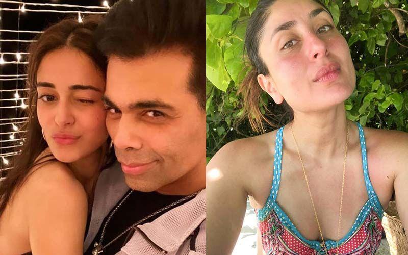 Karan Johar Birthday: Kareena Kapoor Khan Posts A Monochrome Pic To Wish KJo; Ananya Panday Shares A Candid Snap And Calls Him The Best