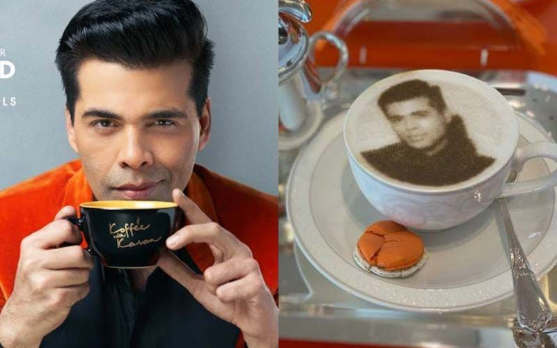 Karan Johar's Latest Post Hints At New Season Of Koffee With Karan; Shares A Pic Of Cup Of Coffee With His Face On It