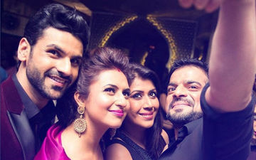 Karan Patel Sends Out Anniversary Wishes To Divyanka Tripathi A Day Late; Her Reaction Is Hilarious