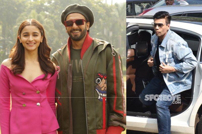 Karan Johar To Wear Director's Hat For A Romantic Film Featuring Alia Bhatt And Ranveer Singh?