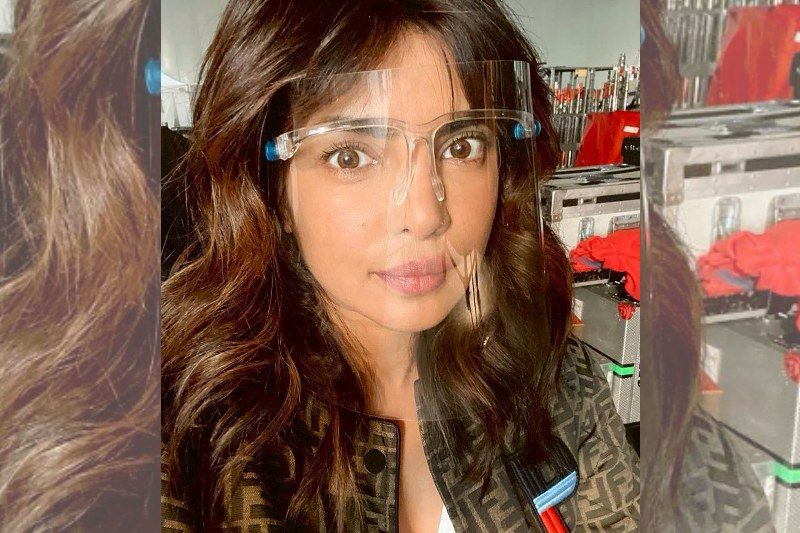 Priyanka Chopra Poses With A Face Shield; Describes What 'Shooting A Movie Looks Like In 2020'