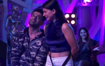 Bigg Boss 14's Lovebirds Pavitra Punia And Eijaz Khan Spotted In The City; Couple Unable To Stop Blushing In Each Other's Company - WATCH