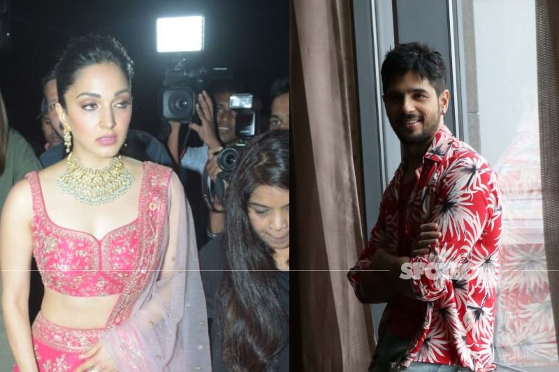 Kiara Advani Papped As She Leaves Rumoured BF Sidharth Malhotra's Residence; Actress Surprised To See Cameras