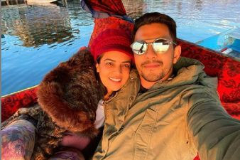 Newlyweds Aditya Narayan And Shweta Agarwal Enjoy A Shikara Ride While On Honeymoon; Singer Talks About 'Sukoon' Whilst Chilling In Kashmir