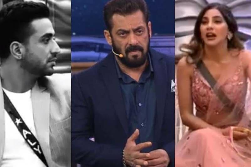 Bigg Boss 14 Weekend Ka Vaar PROMO: Nikki Tamboli - Aly Goni's Fight Gets Nasty; Former Pushes The Latter After Complaining To Salman Khan - WATCH