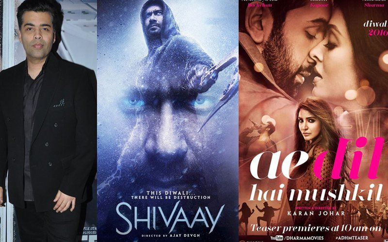 This Is What Karan Johar Has To Say About ADHM and Shivaay Clash