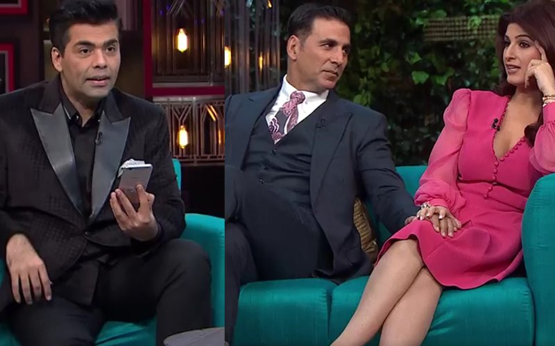 Karan Johar Always Had His Mind In Other People's Crotches, says Twinkle Khanna