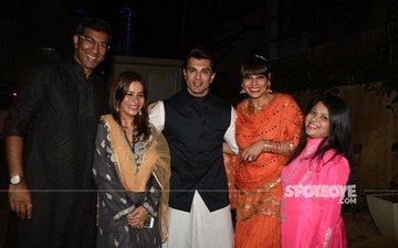 Karan Singh Grover And Bipasha Basu Attend Close Friends' Diwali Bash!