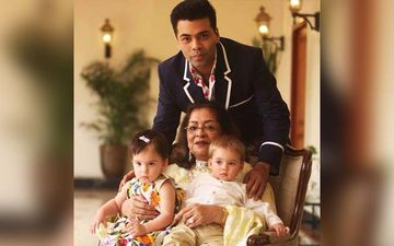 Karan Johar's Most Candid Clicks With His Kids Yash And Roohi Johar Are Too Cute To Be Missed