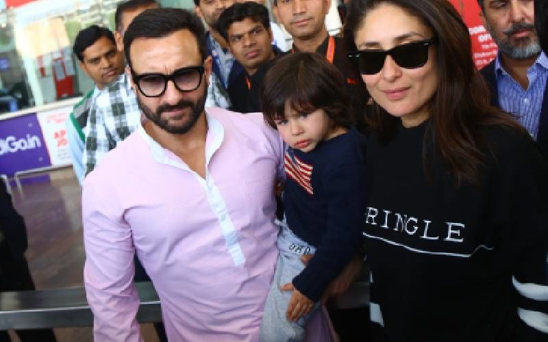 Kareena Kapoor - Saif Ali Khan Announce Baby No 2; Fans Have A Field Day With Memes Dedicated To Taimur And His Paparazzi Moment