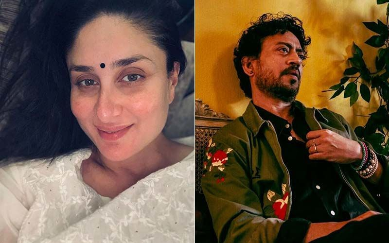 Irrfan Khan Death Anniversary: Kareena Kapoor Khan Remembers Her Angrezi Medium Co-Star; Shares A Candid Monochromatic Picture Of The Late Actor