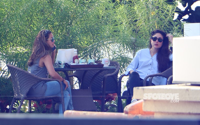 Kareena Kapoor & Amrita Arora's Girly Afternoon-In; BFFs Spotted Chilling On Amrita's Lush Terrace