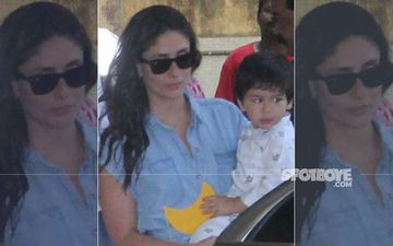 Kareena Kapoor Khan's Denim Shift Dress Is Perfect For The Busy Mom