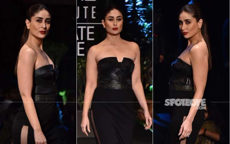 Lakme Fashion Week 2019 Finale Night: Showstopper Kareena Kapoor Khan Takes The Breath Away In Black