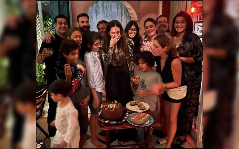 Kareena Kapoor Khan Gives Fans A Glimpse Of Sister Karisma Kapoor's Birthday Celebration; Bebo, Lolo, Saif Ali Khan And Others Are All Smiles In The Candid Picture