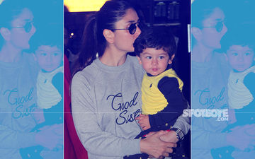Kareena Kapoor Returns Home, Kissing Her Darling Taimur In Her Arms