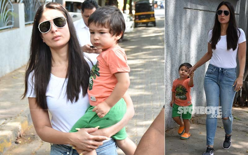Kareena With Taimur