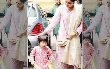 Diwali 2019: Taimur Ali Khan Screams 'NO' To Paps As Cameras Go Clickety-Click