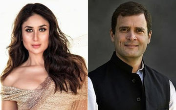 Kareena Kapoor Khan Wanted To Go On A Date With Rahul Gandhi! – Watch Video