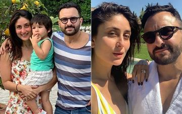 "Taimur, Kareena And Saif Ali Khan Say ""Hello!"" From Tuscany"